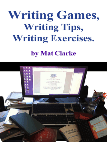 Writing Games, Writing Tips, Writing Exercises.