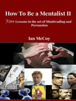 How to be a Mentalist II