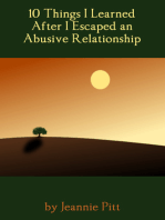 10 Things I Learned After I Escaped an Abusive Relationship