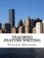 Teaching Feature Writing