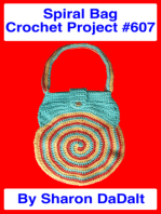 Spiral Bag Crochet Project #607