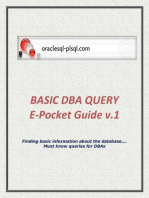 Basic DBA Query v.1
