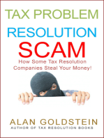 Tax Problem Resolution Scam
