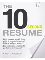 The Ten Second Resume