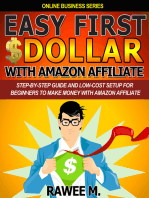 Easy First $Dollar With Amazon Affiliate