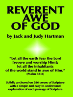 Reverent Awe of God