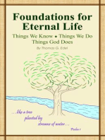 Foundations for Eternal Life