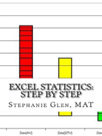 Excel Statistics: Step by Step