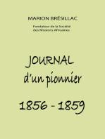Journal d'un pionnier 1856