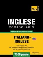 Vocabolario Italiano-Inglese americano per studio autodidattico