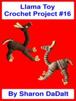 Llama Toy Crochet Project #16