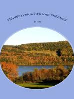 Pennsylvania German Phrase Book