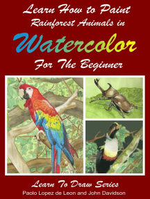 Learn How to Paint Rainforest Animals In Watercolor For The Beginner