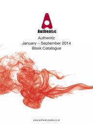 Authentic Books 2014 Catalogue