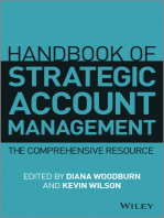 Handbook of Strategic Account Management