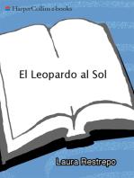 El Leopardo al Sol: Novela