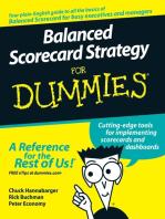 Balanced Scorecard Strategy For Dummies