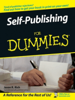 Self-Publishing For Dummies