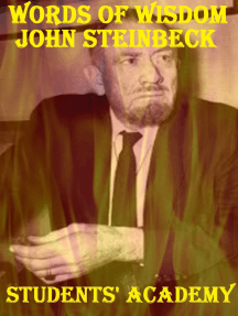 Words of Wisdom: John Steinbeck