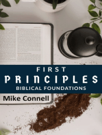 First Principles (Biblical Foundations)