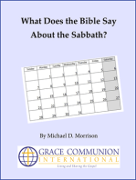 What Does the Bible Say About the Sabbath?