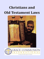 Christians and Old Testament Laws