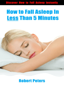 How to Fall Asleep In Less Than 5 Minutes