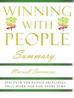 Winning With People Summary