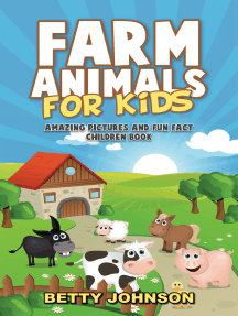 Farm Animals for Kids: Amazing Pictures and Fun Fact Children Book (Children's Book Age 4-8) (Discover Animals Series)