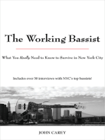 The Working Bassist: What You Really Need to Know to Survive in New York City