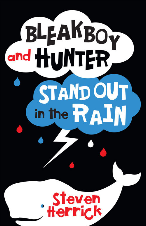 Bleakboy And Hunter Stand Out In The Rain By Steven Herrick By