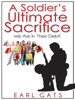 A Soldiers' Ultimate Sacrifice