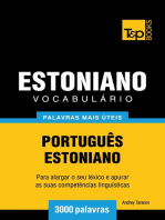Vocabulário Português-Estoniano