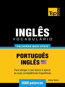 Vocabulário Português-Inglês americano: 3000 palavras mais úteis