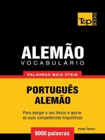 Vocabulário Português-Alemão