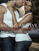 Means, Motive and Opportunity (Broken Wheel Wolves, Book 6) (Werewolf Romance)