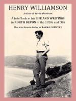 Henry Williamson, author of Tarka the Otter