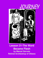 Journey Lesson 31 The Word Became Flesh