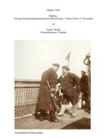 """""""Hekla"""" 1905. Dagbog ført paa Fiskeriinspektionstogtet til Island fra den 1' Marts til den 15' December af Gustav Kragh Underskibsminør i Flaaden."""