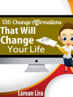 136 Change Affirmations That Will Change Your Life