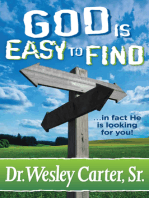 God is Easy to Find