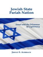 Jewish State, Pariah Nation