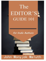 The Editor's Guide