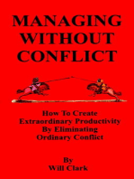 Managing Without Conflict