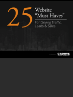 25 Website Must Haves For Driving Traffic Leads & Sales