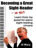 Becoming a Great Sight-Reader–or Not! Learn From My Quest for Piano Sight-Reading Nirvana
