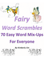 Fairy Word Scrambles: 70 Easy Word Mix-Ups For Everyone