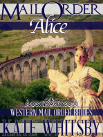 Mail Order Alice (Western Mail Order Brides)
