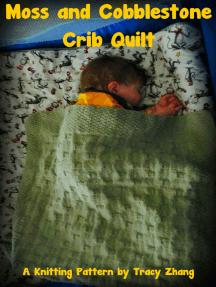 Moss and Cobblestone Crib Quilt