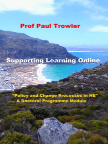 "Supporting Learning Online: ""Policy and Change Processes in Higher Education"" - A Doctoral Programme Module"